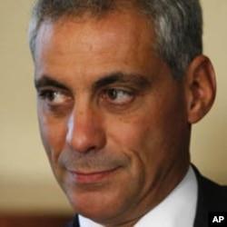 芝加哥当选市长伊曼纽尔(资料照片)