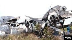 Un Antonov 32 écrasé à Malanje, Angola.(Achrive/Photo non datée)