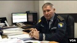 Zdravko Sedlo, zapovjednik postrojbe Granične policije Orašje