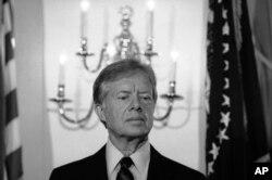 بحران گروگانگیری در زمان ریاست جمهوری جیمی کارتر روی داد.