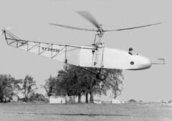 The VS-300, Sikorsky's first successful helicopter