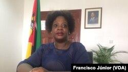 Ndiça Massinga, assessora da ministra da Cultura e Turismo