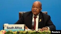 제이컵 주마 남아프리카공화국 대통령.