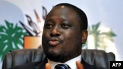 Guillaume Soro, président de l'assemblée nationale ivoirienne