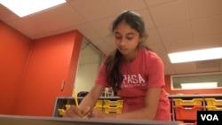 Student Mishal Junaid loves attending Khan Lab School