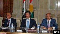KRG Meeting, Nechirvan Barzani