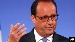El presidente francés, Francois Hollande, es escéptico sobre un acuerdo comercial con EE.UU. este año.