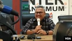 Ketua KPU, Arief Budiman (Foto dok: Rio Tuasikal/VOA)
