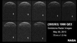 Las primeras imágenes del asteroide revelan que tiene su propia Luna.