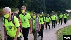 Marš mira Sarajevo-Nezuk, 3. juli 2020.