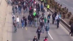 Петочните протести завршија без поголеми инциденти