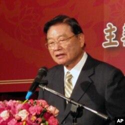 海基会董事长江丙坤致词