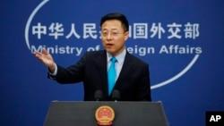 Представитель МИД КНР Чжао Лицзянь