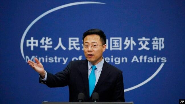 中国外交部发言人赵立坚 (2020年2月24日)