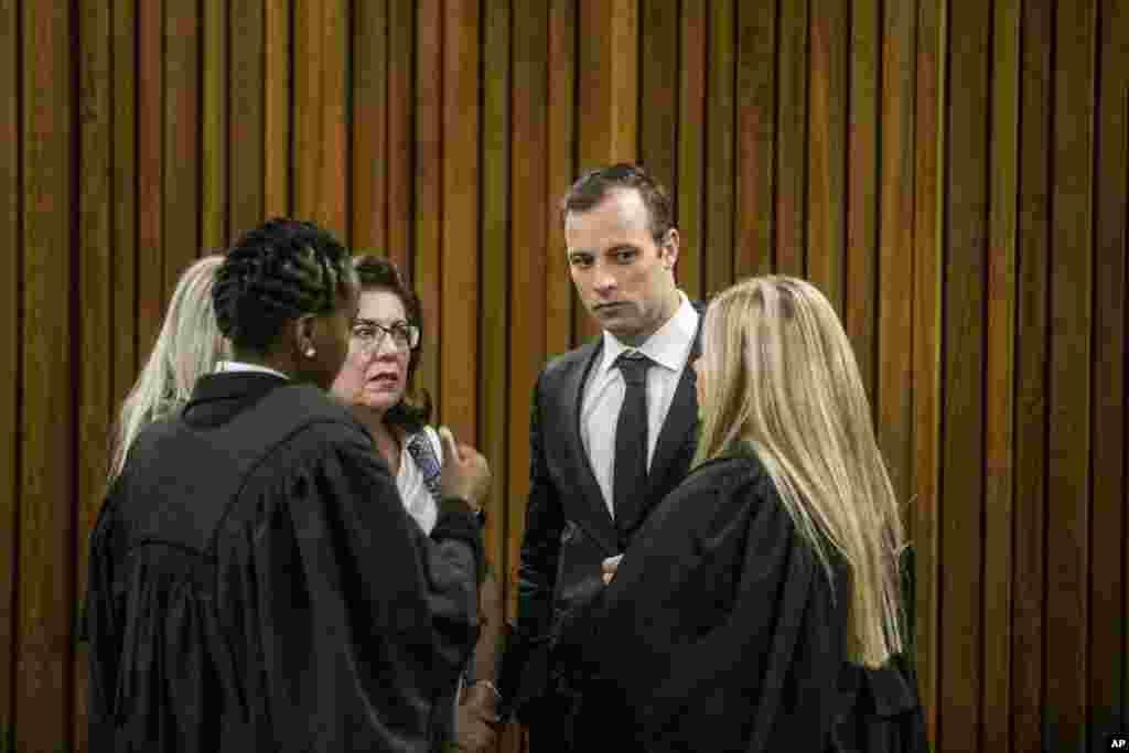 Sauraron karar Oscar Pistorius a kotun Pretoria.