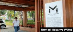 Warak adalah binatang mitos populer di Semarang yang menggambarkan kebhinekaan warganya. (Foto: VOA/Nurhadi Sucahyo)