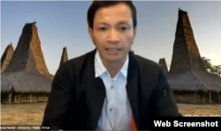 Direktur Amnesty International Indonesia Usman Hamid. (Foto: screenshot)