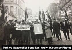 Turkiye Gazeteciler Sendikası Arşivi