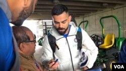 ویرات کوهلی کپتان تیم ملی کرکت هند