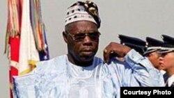 Former Nigerian president Olusegon Obasanjo