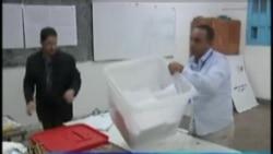 突尼斯进行第一次民主选举计票