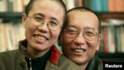 刘晓波和妻子刘霞(资料照片)