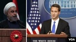اریک شولتز از سخنگوهای کاخ سفید می گوید اصرار ایران در حمایت از حزب الله به نفع این کشور نیست.