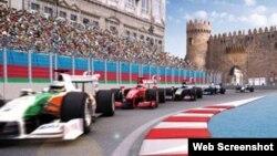 Formula1 Bakıda Avropa Qran-Prisi