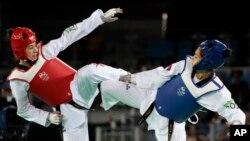 Milica Mandić na Olimpijadi u Riju