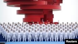 中國海軍在青島慶祝人民解放軍海軍建軍70週年 (2019年4月22日)