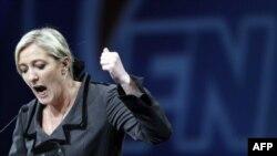 Ocak ayında Front National'ın başına geçen Marine Le Pen