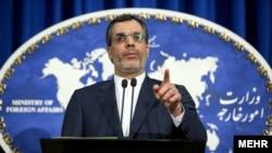 حسین جابر انصاری سخنگوی وزارت امور خارجه ایران