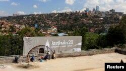 民眾悼念盧旺達大屠殺20週年