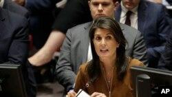 Đại sứ Mỹ tại Liên hiệp quốc Nikki Haley