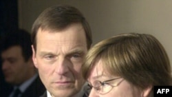Роберт Братке и Джанет Богу (архивное фото)