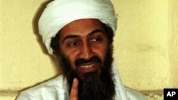 FILE - In this 1998 file photo, al Qaida leader Osama bin Laden is shown in Afghanistan. He was killed during a U.S. military operation in Pakistan late Sunday on May 1, 2011.