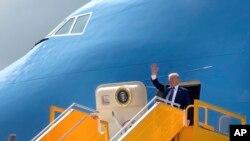 Tổng Thống Donald Trump đến Đà Nẵng vào tháng 11/2017.