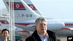俄羅斯六方會談首席代表波洛達夫金訪問平壤