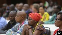 Wajumbe wa Kamati Kuu ya ZANU-PF katika mkutano
