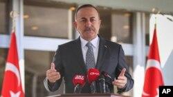 25 Mart 2020 - Ankara, Dışişleri Bakanı Mevlüt Çavuşoğlu
