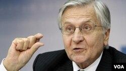 Según el presidente del Banco Central Europeo, Jean-Claude Trichet, hay gran incertidumbre sobre la economía mundial.