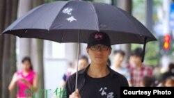 中国广东人权活动人士甄江华 (维权网图片)
