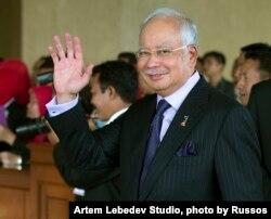 FILE - Malaysian Prime Minister Najib Razak, Oct. 20, 2014.