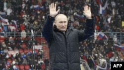 Путин и митинг