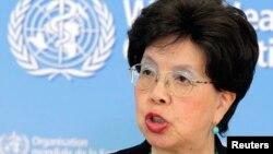 Dirjen WHO, Margaret Chan memberikan keterangan kepada media mengenai wabah ebola (foto: dok).