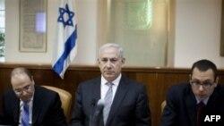 Izraelski premijer Benjamin Netanjahu na sastanku kabineta