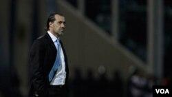 Sergio Batista dirigió a Argentina en 17 encuentros de los cuales ganó 8, empató 6 y perdió 3.