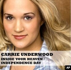 Carrie Underwood's CD single