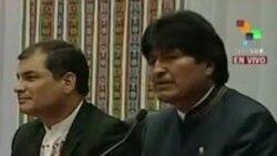 Bolivia y Ecuador afianzan cooperación bilateral