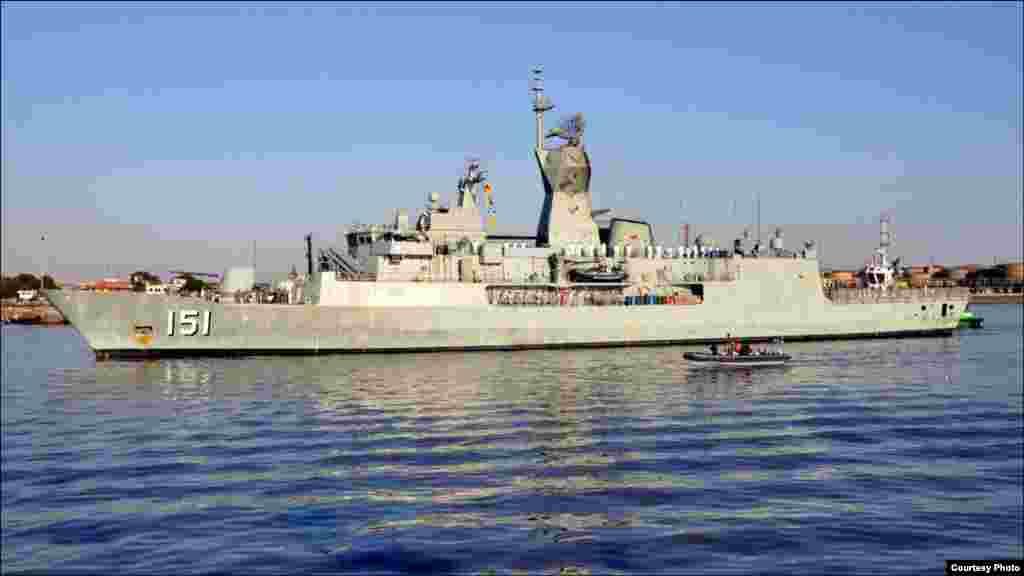 آسٹریلیا کا بحری جہاز